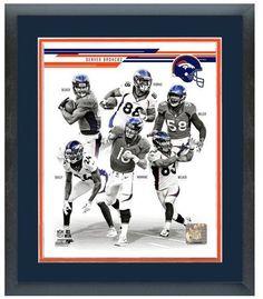"2013 Denver Broncos - 11"" x 14"" Framed & Matted Team Composite Photo"