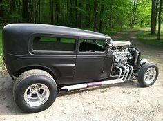 Ford : Model A Rat rod 1930 ford model A. Street R - http://www.legendaryfinds.com/ford-model-a-rat-rod-1930-ford-model-a-street-r/