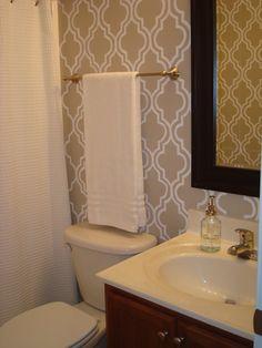 Small Half Bathroom Dimensions half bath idea - frame around mirror   {home ideas}   pinterest