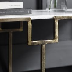 Gatsby Marble Top Console Table - ETA end July