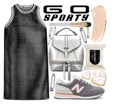 """""""Go Sporty!"""" by katerin4e-d ❤ liked on Polyvore featuring New Balance, H&M, Bobbi Brown Cosmetics, Eve Lom, DAMIR DOMA, sporty, contestentry, fashionset, polyvorecontest and sportystyle"""
