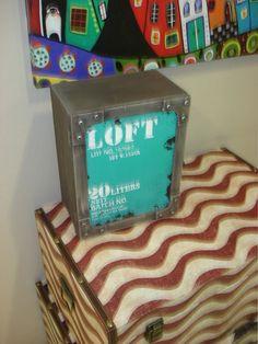 Caja de madera #decoracion