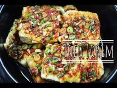 Vegetarian Recipe : Korean Side Dish : Tofu Recipe : Tofu Jorim 한글자막 두부조림 레시피 :Korean Recipe