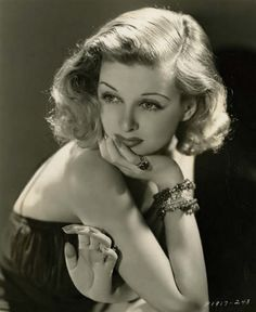 "A Tribute to Joan Bennett - Classic film actress and ""Dark Shadows"" star, 1930's"