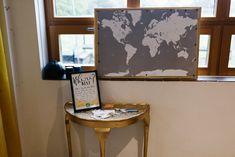 Map Travel Guest Book Village Hall Wedding Emily + Katy Photography #WeddingMap #Travel #GuestBook #Wedding