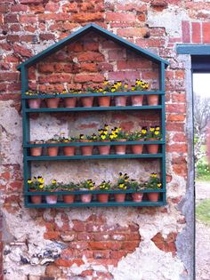 Cool idea! Greys court gardens in Henley
