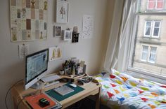 https://flic.kr/p/9fB7qj   Tidy Studio   I cleared out my studio and now its functioning much better. Who knew that not working amongst piles of paper would be so much better?