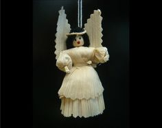 Corn Husk Angel Ornaments from Guatemala by CCIWorld on Etsy, $1.87   #Guatemala #orphans #internationaladoption #christmas