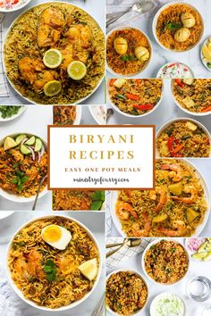 Must-try easy one pot Biryani Instant Pot recipes! Quite possibly the most well-known rice dish from India, biryani can be found throughout the country. #ministryofcurry #instantpot #biryani Instant Pot Dinner Recipes, Delicious Dinner Recipes, Healthy Indian Recipes, Vegetarian Recipes, Amazing Food Hacks, Easy One Pot Meals, Biryani Recipe, Indian Kitchen, Rice Dishes