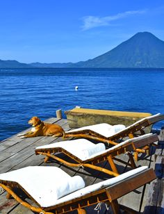Guatemala....this is where my uncle owns his bed and breakfast, I would love to go one day!