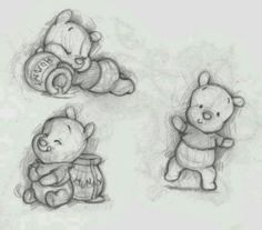 baby pooh♡ this is soooo cute!