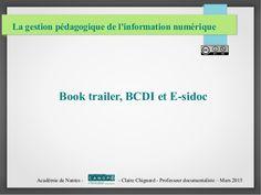 Objectifs : Réaliser une bande annonce sous format vidéo pour présenter et promouvoir un livre. Animer un catalogue et un portail documentaire à l'aide de présentations animées de livres.