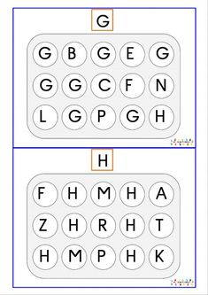 Reconnaissance des lettres majuscules | MC en maternelle Nursery Worksheets, Kindergarten Worksheets, Summer Worksheets, Montessori, Activities For Kids, Learning, Literacy Activities, Alphabet, Prehistory