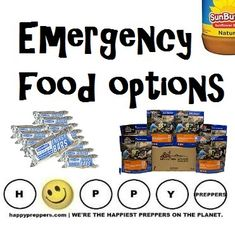 "omeone asked: ""What's the best food to hoard in case of end of world?"" Hope that doesn't happen, but here are your best EMERGENCY FOOD OPTIONS: http://happypreppers.com/emergency-food.html"