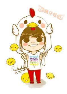 Jonghyun SHINee chibi.