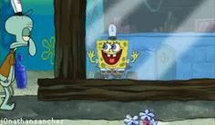 When you're at work and see your shift replacement coming.
