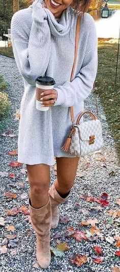 Beautiful winter outfits ideas that always looks fantastic 35 уютные наряды Winter Outfits For Teen Girls, Stylish Winter Outfits, Casual Fall Outfits, Winter Fashion Outfits, Fall Winter Outfits, Look Fashion, Autumn Winter Fashion, Trendy Outfits, Womens Fashion