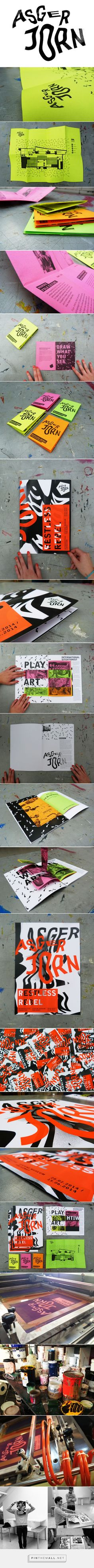 ASGER JORN - Exhibition Identity on Behance... - a grouped images picture - Pin Them All