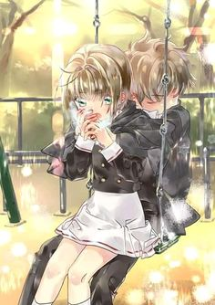 Anime Couples Manga, Manga Anime, Anime Art, Sakura Card Captor, Cardcaptor Sakura, Hot Anime Boy, Anime Love, Anime Films, Anime Characters