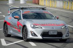 GT86 is a great choice for Toyota New Zealand Racing Series safety car.