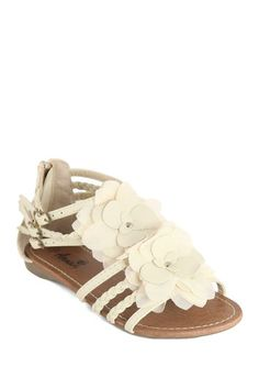 ANNA Shoes Bonnie Floral Gladiator Sandal