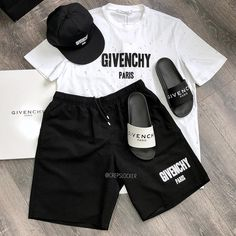 "e5a27887795 CREPSLOCKER™ on Instagram  "" GIVENCHY combo or nah   White or Black slides  🤷 ♂ let us know below which ones you would rock    tap this post for the  ..."
