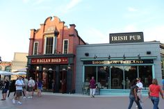 Raglan Road - one of THE best restaurants in Downtown Disney, the Irish food is amazing! And they always have live Irish dancing performances/music