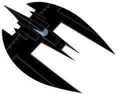B:TAS Batplane by Alexbadass on DeviantArt