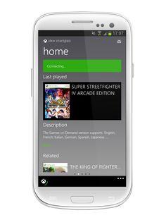 Xbox SmartGlass. Love using this w/ the Xbox!