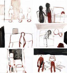 "Saatchi Art Artist Monica Bonzano; Painting, ""HOW THE STORY ENDS"" #art"