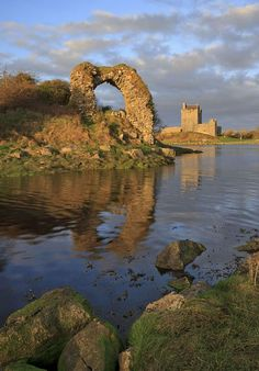 Dunguaire Castle, Kinvara, Co. Galway, Ireland.ڿڰۣ ✿ ڿڰۣ