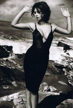 Monica Bellucci Stock Photos Italian actress and model Monica Bellucci is 53 years old, but millions of men from all over the world still dream her. Monica Bellucci Photo, Monica Belluci, Most Beautiful Women, Beautiful People, Beautiful Dream, Beauty And Fashion, Italian Actress, Gq Magazine, Black And White Pictures