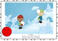 BEZPIECZNE ZABAWY NA ŚNIEGU I LODZIE – plansze zestaw 1 – Przedszkolankowo Disney Characters, Fictional Characters, Family Guy, Education, Disney Princess, Party, Internet, Youtube, Christmas