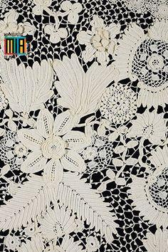 iPhone Wallpaper: Irish Crochet by Minneapolis Institute of Arts, via Flickr