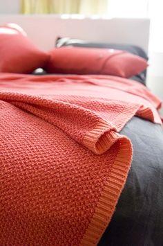 tang ~ textured cotton knit ~ luna home