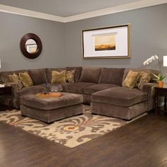 Turn your living room into a comfortable and stylish space with affordable furniture from Jerome's. Brown Couch Living Room, Living Room Sets, Living Room Furniture, Home Furniture, Living Room Decor, Dining Room Table Decor, Living Comedor, Fall Home Decor, Living Room Inspiration