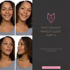 Photoshoot Makeup Guide: 5 looks for Women Of Color [ Guest post by Izmir Henry ] - Marcela Macias Photography Photoshoot Makeup, Makeup Guide, Looking For Women, Business Women, Portrait Photography, About Me Blog, Color, Women In Business, Colour