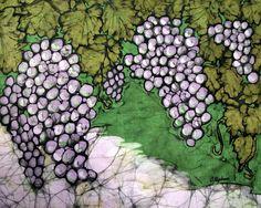 Kristine Allphin, Fine Art Batik: Yielding Fruit