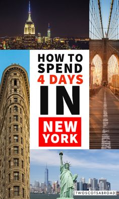 4 days in New York, New York City, how to plan a trip to New York, New York travel tips, New York itinerary, perfect 4 days in New York, things to do in New York City, New York views, New York at night, New York attractions, New York itinerary, New York tips, budget New York, New York City skyline, New York City travel #newyorkcity Usa Travel Guide, Travel Usa, Travel Tips, Travel Abroad, Travel Goals, Travel Guides, York Things To Do, New York Attractions, New York City Travel
