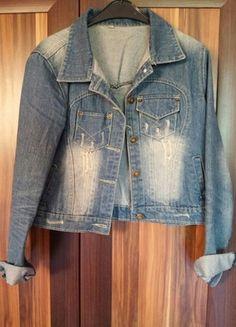 Kup mój przedmiot na #vintedpl http://www.vinted.pl/damska-odziez/marynarki-zakiety-blezery/9872616-piekna-kurtka-jeansowa