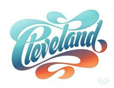 Shoutout to our followers from Cleveland! Amazing #lettering by the amazing Erik Marinovich.