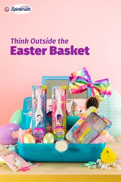 Deep dive into this Easter Basket for your child! Hoppy Easter, Easter Bunny, Easter Eggs, Easter 2020, Easter Gift Baskets, Frozen, Easter Holidays, Easter Treats, Holiday Fun