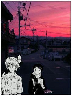 新世紀エヴァンゲリオン neon genesis evangelion evangelion Auska Langley rei ayamani Shinji Ikari Kaworu anime manga japanese Aesthetic design by odio