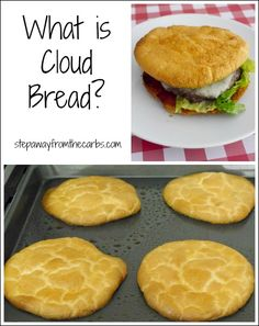 What is Cloud Bread? Find out more about this classic low carb bread alternative.