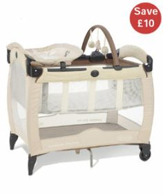 View details of Graco Contour Electra Travel Cot - Bertie and Fern