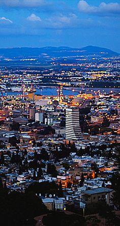 #Haifa - #Israel Jaffa Israel, Israel Palestine, Jerusalem Israel, Naher Osten, Visit Israel, Haifa, Holy Land, Amazing Adventures, Names Of Jesus