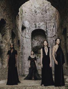 """Valentino Haute Couture"" - Vogue Italia September 2015"