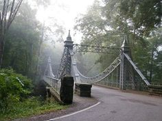 youngstown mill creek park silver bridge