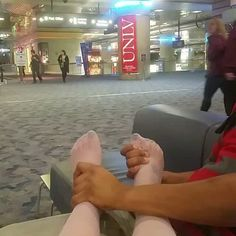 Don't mind me, just getting my feet rubbed