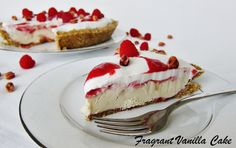 Raw Peanut Butter and Jelly Cream Pie Raw Dessert Recipes, Raw Desserts, Raw Vegan Recipes, Jam Recipes, Organic Recipes, Vegan Food, Vegan Sweets, Healthy Desserts, Delicious Desserts